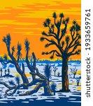arizona joshua tree forest... | Shutterstock .eps vector #1933659761