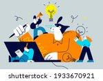 innovation  improving career ... | Shutterstock .eps vector #1933670921