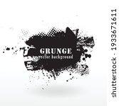 vector grunge banner background.... | Shutterstock .eps vector #1933671611