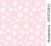 pink sakura seamless pattern ... | Shutterstock .eps vector #1933722911