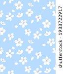blue spring tree blossom... | Shutterstock .eps vector #1933722917