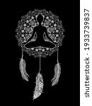 Mandala Dreamcatcher With Lotus ...