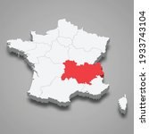 auvergne rhone alpes region...   Shutterstock .eps vector #1933743104