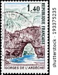 france   circa 1971  a stamp...   Shutterstock . vector #193375235