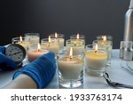 Aroma Scented Candle Glasses...