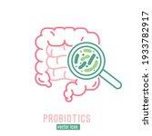lactobacillus probiotics icon....   Shutterstock .eps vector #1933782917