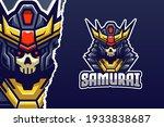 king samurai e sport logo... | Shutterstock .eps vector #1933838687