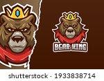 bear king e sport logo template | Shutterstock .eps vector #1933838714