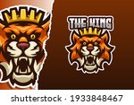 the tiger king e sport game... | Shutterstock .eps vector #1933848467
