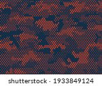 camouflage seamless pattern.... | Shutterstock .eps vector #1933849124