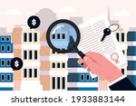 real estate searching. search... | Shutterstock .eps vector #1933883144