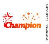 champion victory celebration... | Shutterstock .eps vector #1933900391