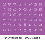 48 thin icons set v2