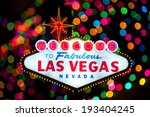 iconic welcome to fabulous las... | Shutterstock . vector #193404245