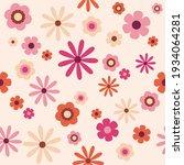 70's indie retro aesthetic ... | Shutterstock .eps vector #1934064281