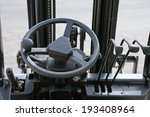 Close Up Of Generic Forklift...