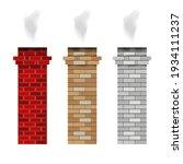 Brick Fireplace Chimney Pipes....