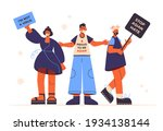 stop asian hate. proud to be... | Shutterstock .eps vector #1934138144
