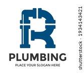 r letter vector logo template.... | Shutterstock .eps vector #1934143421
