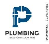 p letter vector logo template.... | Shutterstock .eps vector #1934143481