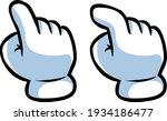 vector illustration of gloved... | Shutterstock .eps vector #1934186477