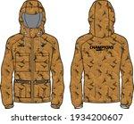 Long Sleeve Camouflage Hoodie...