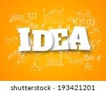 idea concept | Shutterstock .eps vector #193421201