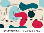modern poster art. abstract...   Shutterstock .eps vector #1934214767