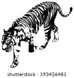 black and white illustration of ...   Shutterstock .eps vector #193426481