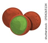 tasty falafel icon. cartoon of... | Shutterstock .eps vector #1934265134