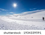 Winter Sports On Lessinia...