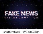 fake news disinformation... | Shutterstock .eps vector #1934362334