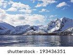 nordic landscape. mountains | Shutterstock . vector #193436351