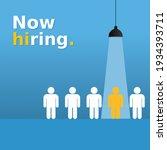 we are hiring simple design... | Shutterstock .eps vector #1934393711