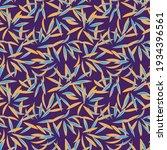 purple floral botanical...   Shutterstock .eps vector #1934396561