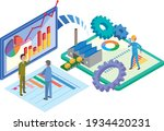 factory efficiency and digital... | Shutterstock .eps vector #1934420231
