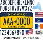new york federal state car... | Shutterstock .eps vector #1934436431