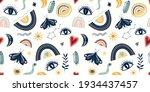 decorative seamless pattern... | Shutterstock .eps vector #1934437457