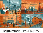 construction worker  builder... | Shutterstock .eps vector #1934438297