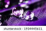 beautiful large dew or rain... | Shutterstock . vector #1934445611