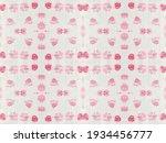 red seamless spot. ink... | Shutterstock . vector #1934456777