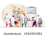 happy group of medical students ...   Shutterstock .eps vector #1934501981
