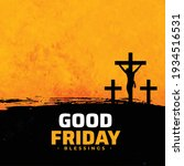 good friday abstract background ... | Shutterstock .eps vector #1934516531
