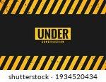 under construction background... | Shutterstock .eps vector #1934520434