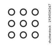 minimal hamburger menu flat...   Shutterstock .eps vector #1934534267