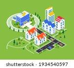 city district   modern vector...   Shutterstock .eps vector #1934540597