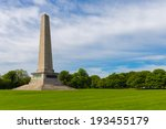 Small photo of Wellington Monument on a spring day in Phoenix Park