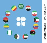 opec members countries national ...   Shutterstock .eps vector #1934557874