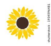 Vector Yellow Sunflower....
