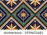 abstract ethnic geometric... | Shutterstock .eps vector #1934621681